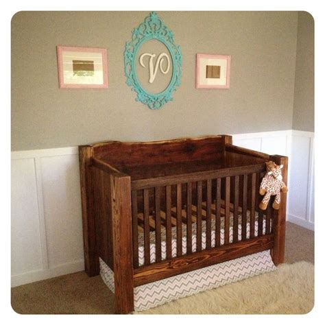 Handcrafted Baby Cribs - built crib baby nursery