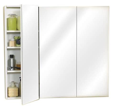 frameless mirrored medicine cabinet zenith m36 beveled edge mirrored frameless tri view