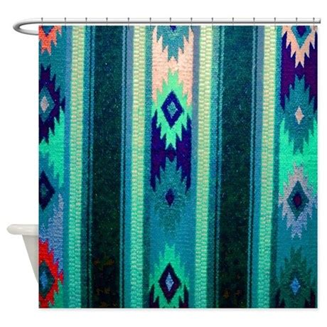 shower curtain rod india indian blanket shower curtain by hopeshappyhome