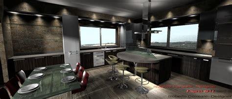 giochi arredare ville gallery of cucina con isola e tavolo duinterni with