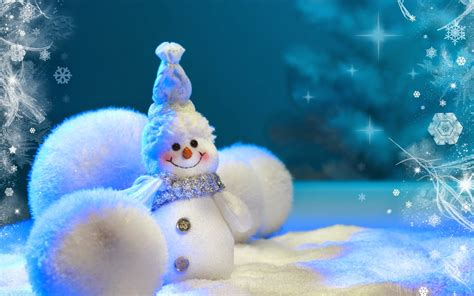 Cute Winter Themes | cute christmas snowman images real dress decorations ideas