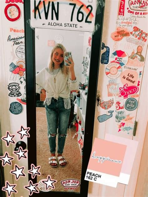 vsco cambreyjohnson dorm decorations mirror stickers