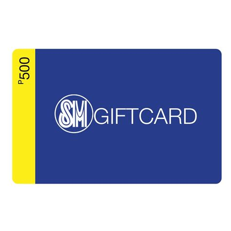 sm gift card php500 - Sm Gift Card 500 Where To Use