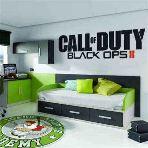 black ops bedroom decor call of duty black ops 2 ii sticker vinyl decal big