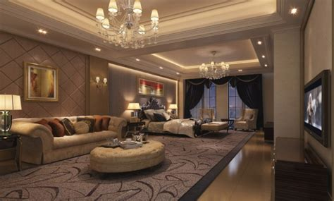 luxury apartments room interior design rendering