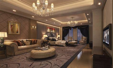 Luxury Apartments room interior design rendering