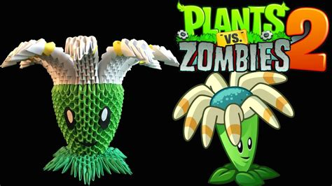 tutorial game plant vs zombie 2 3d origami bloomerang tutorial from the plants vs zombies