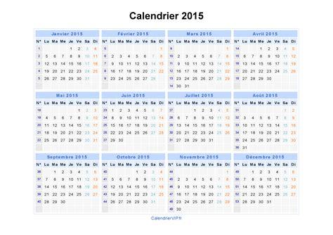 Calendrier 2015 Gratuit Calendrier 2015 224 Imprimer Gratuit En Pdf Et Excel