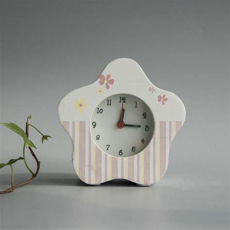 china wooden desk flower shaped alarm clock china clock clocks
