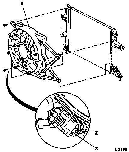vauxhall astra cooling fan resistor vauxhall workshop manuals gt astra g gt j engine and engine aggregates gt cooling system gt fan