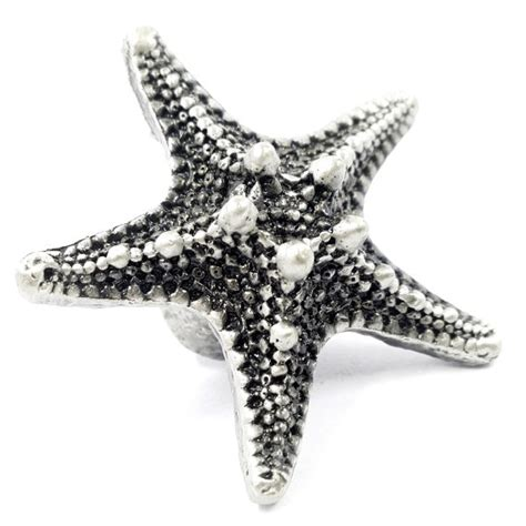 Starfish Cabinet Knobs by Starfish Dresser Knobs Pulls Handles Rustic Kitchen Cabinet