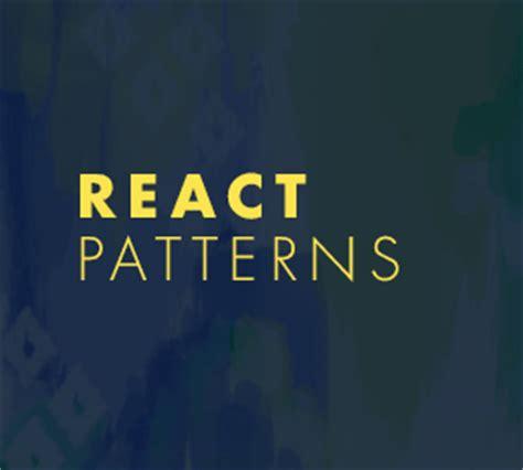pattern library react web design development news collective 241 codrops