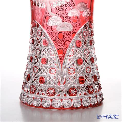 bleikristall le le noble meissener bleikristall vase 40 cm