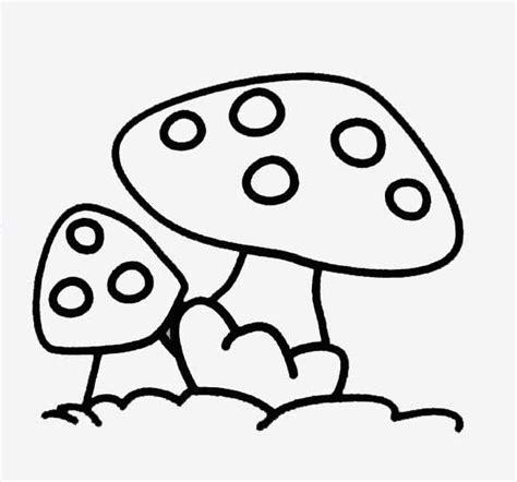 La Nature En Coloriage Champignon
