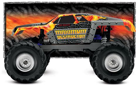 monster jam traxxas trucks traxxas monster jam maximum destruction monster truck