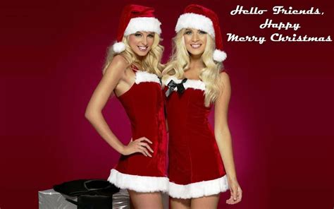 hot girls santa claus hd wallpapers  christmas cards pinterest merry christmas