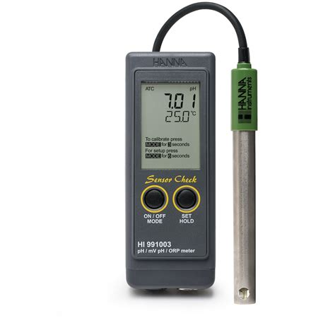 Ph 099 Combination Ph And Orp Meter waterproof portable ph ph mv orp temperature meter with sensor check hi991003 instruments