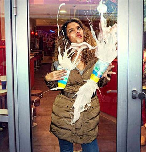 Getting Out Of My Own Waytechno Geek Nerd Princess Running Into Glass Door