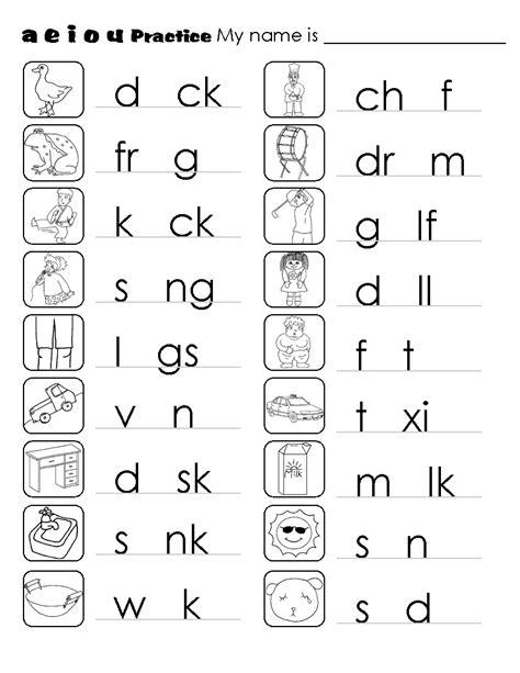 image result for vowels and consonants worksheets dslton