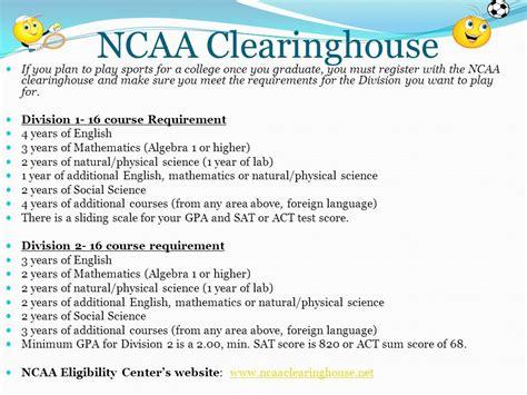 ncaa clearing house ncaa clearing house house plan 2017