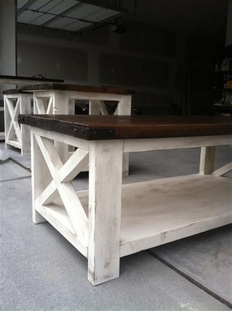 Do It Yourself Coffee Table Rustic X Coffee Table Do It Yourself Home Projects From White Home Office Pinterest