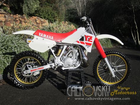 vintage motocross bikes for sale usa 1988 yamaha yz 250 vintage motocross dirt bike