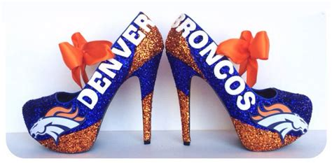 broncos high heels pin it to win it we will announce the winner on 15 05