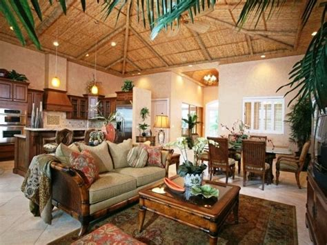 Tropical Decorations For Home by Best 25 Tropical Living Rooms Ideas On Pinterest Tropical Seat Cushions Tropical Style Decor
