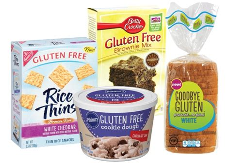 Gluten Free Pantry Products by Gluten Free Food Fad Gaining Momentum Among Marketers