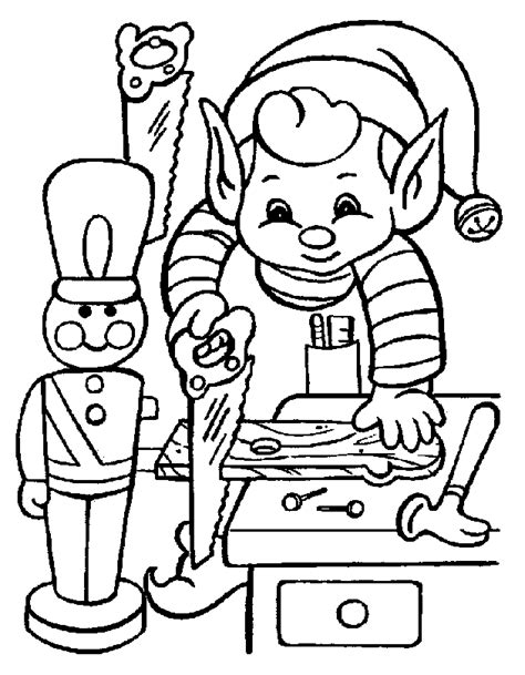 Christmas Coloring Book Coloring Pages Santa S Workshop