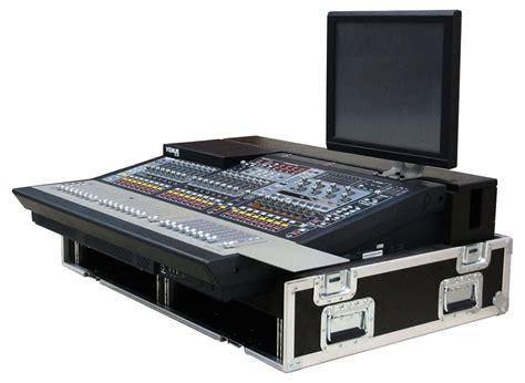 console audio venue sc48 mixing console by avid apex sound light