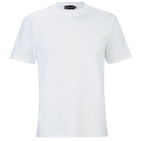 Tshirt Kaos Balmain armor s basic crew neck t shirt white free uk