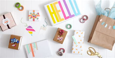 washi tape diy spring diy washi tape gift wrap shari s berries blog