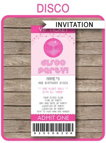 Dis Ee  Party Ee   Ticket Invitations  Ee  Birthday Ee    Ee  Party Ee   Template