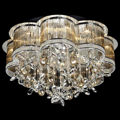 Ceiling Chandeliers Decorative 24 Light Ceiling Chandelier In