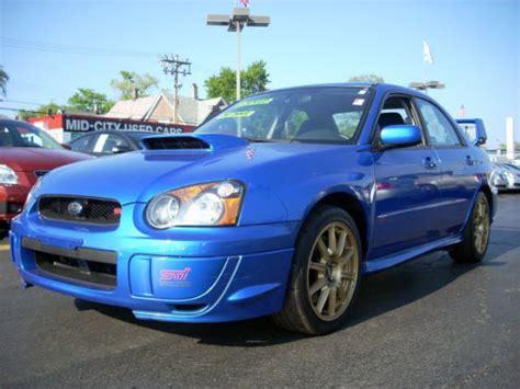 2004 subaru impreza wrx mpg 2004 subaru wrx horsepower