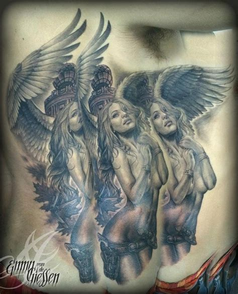 tattoo angel girl 254 best images about religious tattoos on pinterest