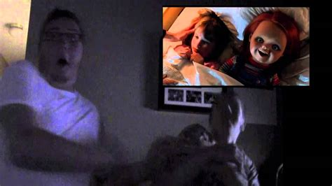 film curse of chucky youtube my reaction to curse of chucky trailer youtube