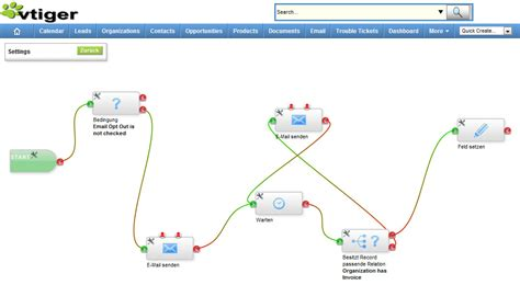 vtiger workflow vtiger new workflow designer extension for vtigercrm