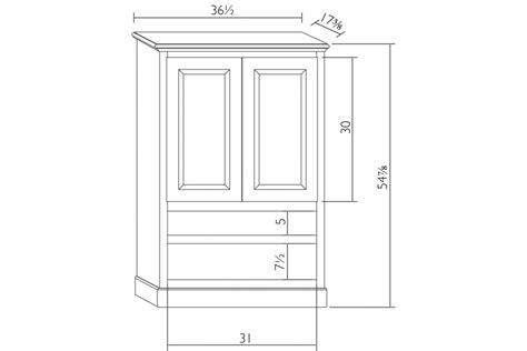 Armoire Dimensions by Traditional Armoire Burress Furniture