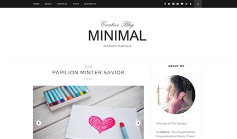 layout para blog gratuito 30 best free blogger templates 2015 themexpose