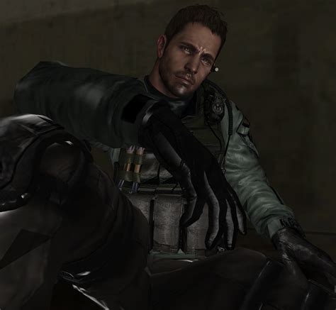 chris redfield re6 edonia wallpaper by pwherocr on