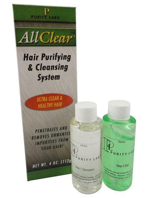 All Clear Detox Shoo by Purity Labs All Clear Hair Purifying Cleansing System