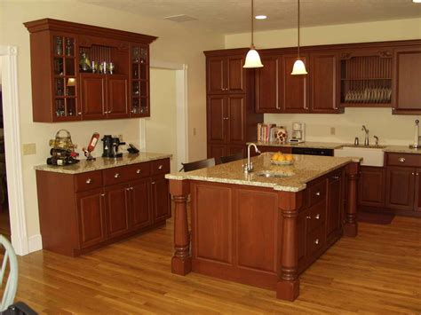 what color floor with cherry cabinets cherry cabinets roselawnlutheran the best color for and