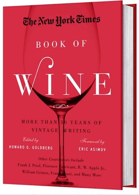 wine books new york times book of wine we are never