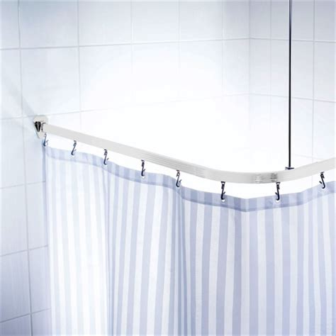 universal curtain track universal shower curtain track white notjusttaps co uk