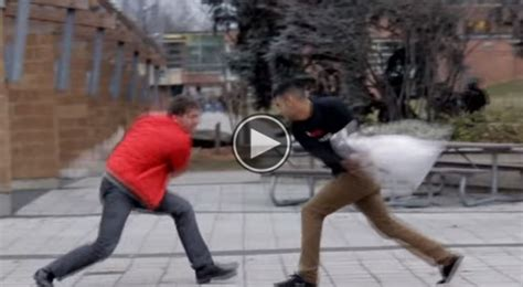 Pillow Fight With Strangers by Pillow Fights With Random Strangers This Is Hilarious