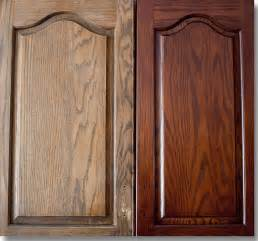 can you stain kitchen cabinets darker restaining cabinets for kitchen ayanahouse
