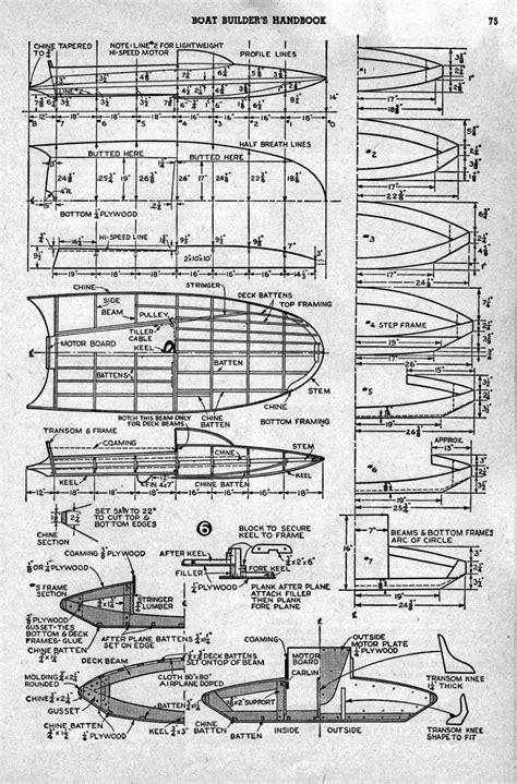 plans com hydroplanes hornet