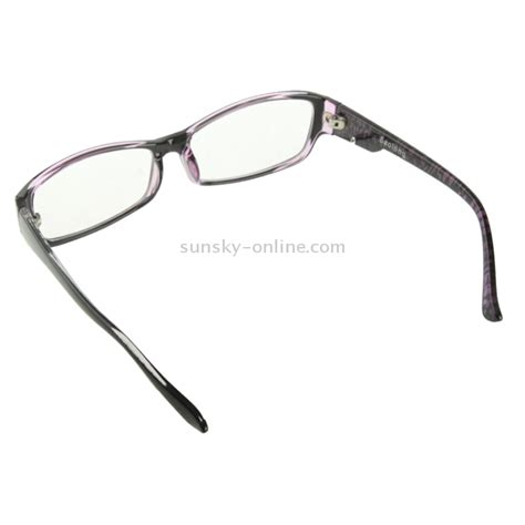 Murah Promo Anti Uv Sunglasses High Definition Vision As Seen On Tv sunsky high quality plating frame radiation glasses spectacles with protective purple